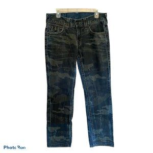 True Religion Flap Back Pockets Straight Jeans 32